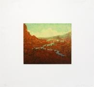 Joan Nelson Untitled (River), 1999–2000 Lithograph, silkscreen varnish