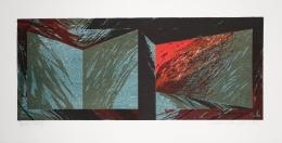 Laddie John Dill Untitled, 1985 Lithograph, woodblock