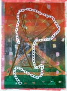 Jason Meadows Hybrids, 2004 Lithographic Monoprint, silkscreen, ed. 131, no. 70 30 x 22 in.