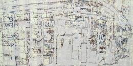 Mark Bradford, Untitled, 2004, Lithograph, silkscreen