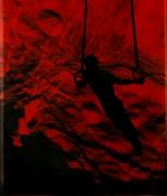 Eve Sonneman Rings on Outer Space, 1988 Polaroid Sonnegram, ed. 3