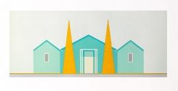 Salomon Huerta Untitled (House), 2002 Lithograph