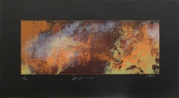 Joe Goode  Untitled (Forest Fires), 1984  Lithograph
