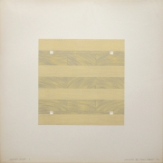 Tony Delap Karnac IV, 1972 Lithograph, embossing