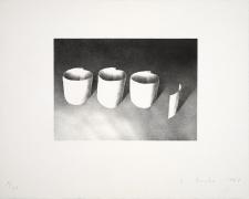 Ed Ruscha Ooo, 1969 Lithograph, ed. 20