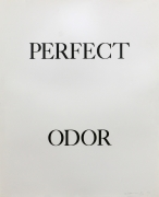 Bruce Nauman Perfect Odor, 1973 Lithograph (triptych), ed. 50