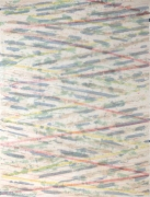 Ed Moses Wedge Series, No. 6, 1973 Single and double-sided lithography on layered Arches, silk & A.T. tissues, ed. 50