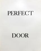 Bruce Nauman Perfect Door, 1973 Lithograph (triptych), ed. 50