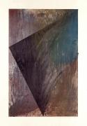 Laddie John Dill, Untitled, 1990, Woodblock monoprint