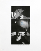 John Baldessari Zorro (Two Gestures and One Mark), 1998 Lithograph