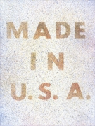 Ed Ruscha Made in U.S.A. or America, Her Best Product, 1974 Lithograph, ed. 125