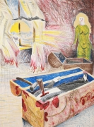 Chales Garabedian, Untitled  1975  Lithograph