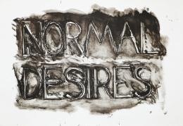 Bruce Nauman Normal Desires, 1973 Lithograph, ed. 50