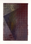 Laddie John Dill, Untitled, 1990, Woodblock monoprint