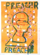 Jason Meadows Hybrids, 2004 Lithographic Monoprint, silkscreen, ed. 131, no. 31 30 x 22 in.