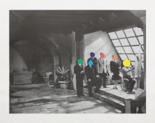 John Baldessari  Studio, 1988  Lithograph, silkscreen