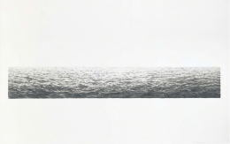 Vija Celmins Untitled (Ocean), 1972 Lithograph