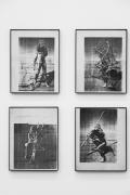 Kim Jones, Mud Man: Performance Stills
