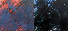 Peter Alexander  Riccoso  1987  Lithograph (diptych)