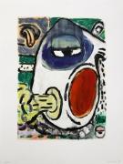 David Lloyd  Untitled, 1996  Monoprint, ed. 25   29 1/2 x  22 1/4 in.  548c-DL96 #17  $1800