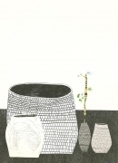 Jonas Wood Untitled, 2009 Lithograph, silkscreen, woodblock, ed. 50