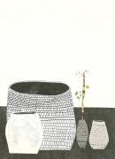 Jonas Wood Untitled, 2009 Lithograph, silkscreen, woodblock, ed. 50