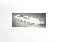 Ed Ruscha Dish, 1973 Lithograph, ed. 250
