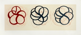Craig Kauffman  Untitled (Three Knots), 1999  Lithograph