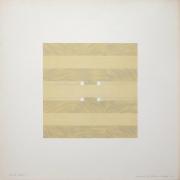 Tony Delap Karnac III, 1972 Lithograph, embossing