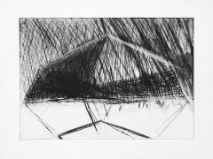 Bruce Nauman Untitled, 1972 Drypoint, ed. 25