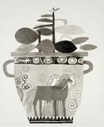 Jonas Wood, Prints, Piece 17