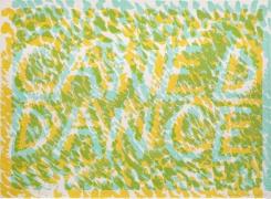 Bruce Nauman Caned Dance, 1974 Lithograph, ed. 100