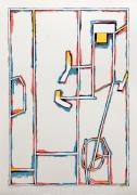 Craig Kauffman  Untitled, State I, 1980  Lithograph, silkscreen