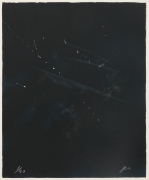 Joe Goode  Rainy Season '78, No. 1, 1978  Lithograph with razor blade impression by artist