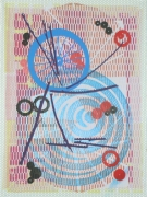 Jason Meadows Hybrids, 2004 Lithographic Monoprint, silkscreen, ed. 131, #101 30 x 22 in.