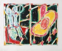 Craig Kauffman  Untitled, 1982  Lithograph