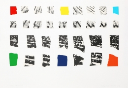 John Baldessari Two Assemblages (with R, O, Y, G, V, Opaque), 2003 Lithograph, silkscreen