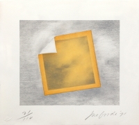 Joe Goode  Untitled, 1971  Lithograph, silkscreen