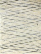 Ed Moses Wedge Series, No. 2, 1973 Single and double-sided lithography on layered Arches, Silk & A.T. tissues, ed. 50