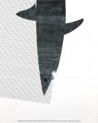 Matthew Brannon Untitled (Blue), 2007 Lithograph, silkscreen