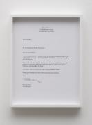 Michael Moshe Dahan, Letter to Customs Officer