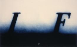 Ed Ruscha IF, 2000 Lithograph, ed. 75