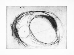 Bruce Nauman Untitled, 1973 Drypoint, ed. 15
