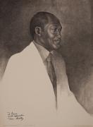 Charles White Mayor Thomas Bradley, 1974 Lithograph, ed. 200