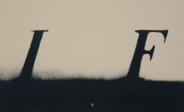 Ed Ruscha  If, 2000  Lithograph