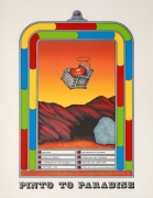 Terry Allen Pinto to Paradise, 1970 Lithograph
