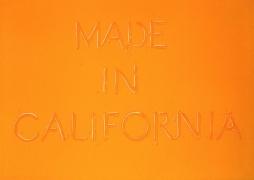 Ed Ruscha Made in California, 1971 Lithograph, ed. 100