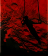 Eve Sonneman  Rings on Outer Space, 1988  Polaroid Sonnegram