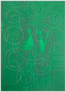 ANDREW LYGHT White Line Drawing TK-2, 2020