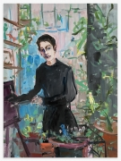 ​DEBORAH BROWN Self-Portrait with Glass Block, 2020